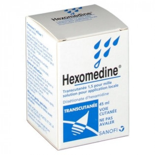 HEXOMEDINE 1.5 % TRANSCUTANEE 45 ML
