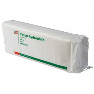 COTON HYDROPHILE EN ACCORDEON 100G LOHMANN