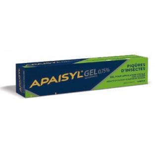 APAISYL GEL 0.75% PIQURES D'INSECTES 30G