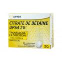Citrate de Betaïne Upsa 2G CITRON - 20 comprimés sans sucre effervescents