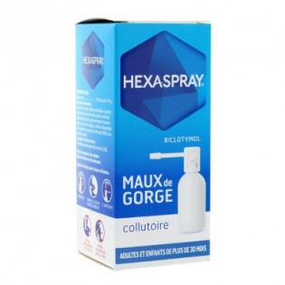 Hexaspray collutoire 2,5% 30g