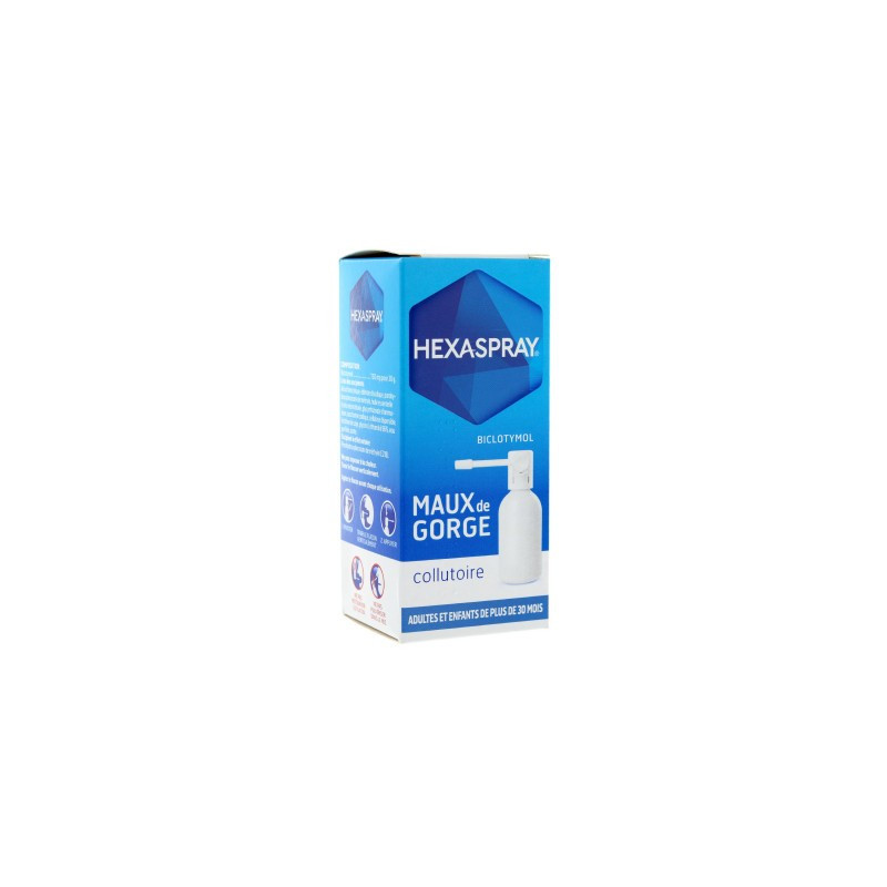 Hexaspray collutoire 2,5% 30g