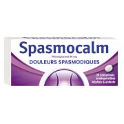 Spasmocalm 80mg 20 comprimés orodispersibles