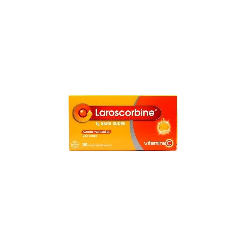 Laroscorbine sans sucre 1000mg 30 comprimés effervescents