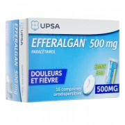 Efferalgan orodispersibles 500mg 16 comprimés (ex odis)
