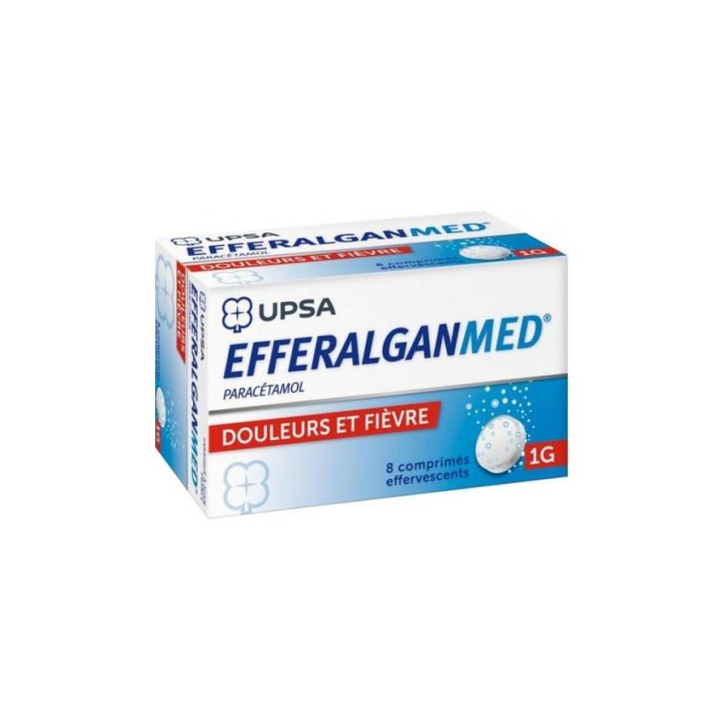 Efferalgan 1gr UPSA boîte de 8cps