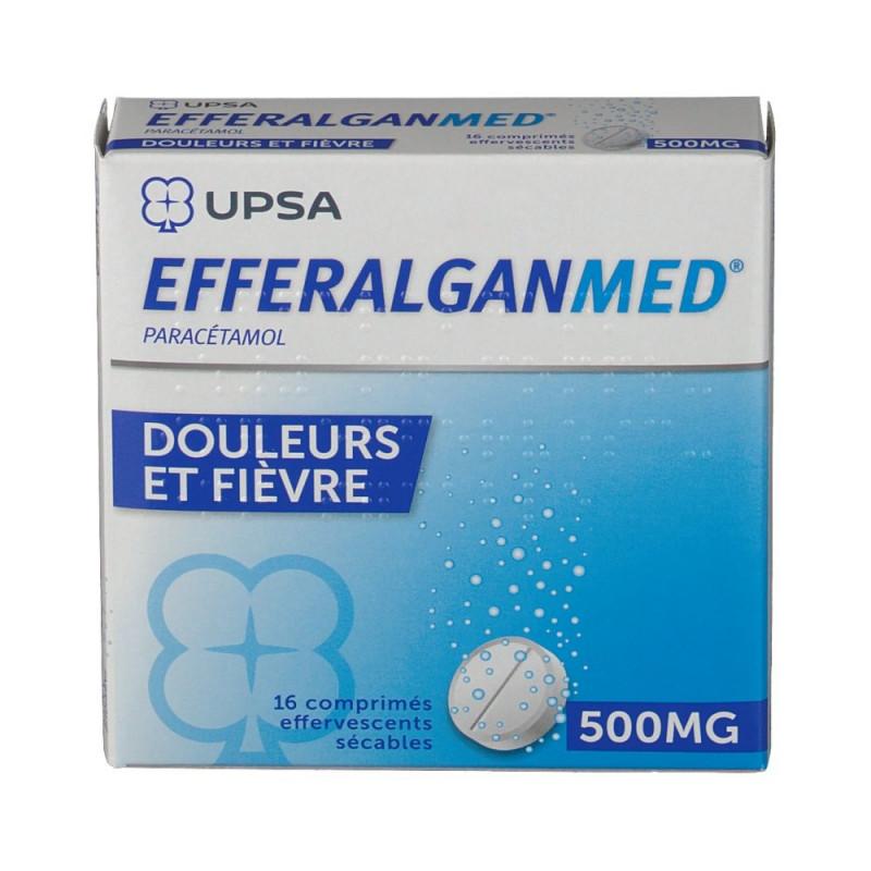 Efferalgan 500mg UPSA boîte de 16 cps effervescents sécables