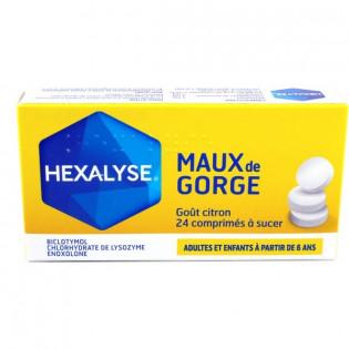 Hexalyse 24 comprimés à sucer