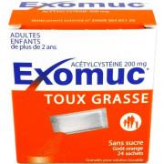 Exomuc 200mg 24 sachets