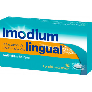 Imodium lingual 2mg 12 lyophilisat oral