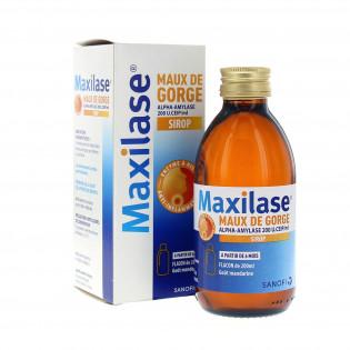Maxilase sirop dès 6 mois flacon de 200ml