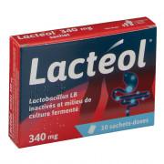 Lacteol 340mg 10 sachets poudre