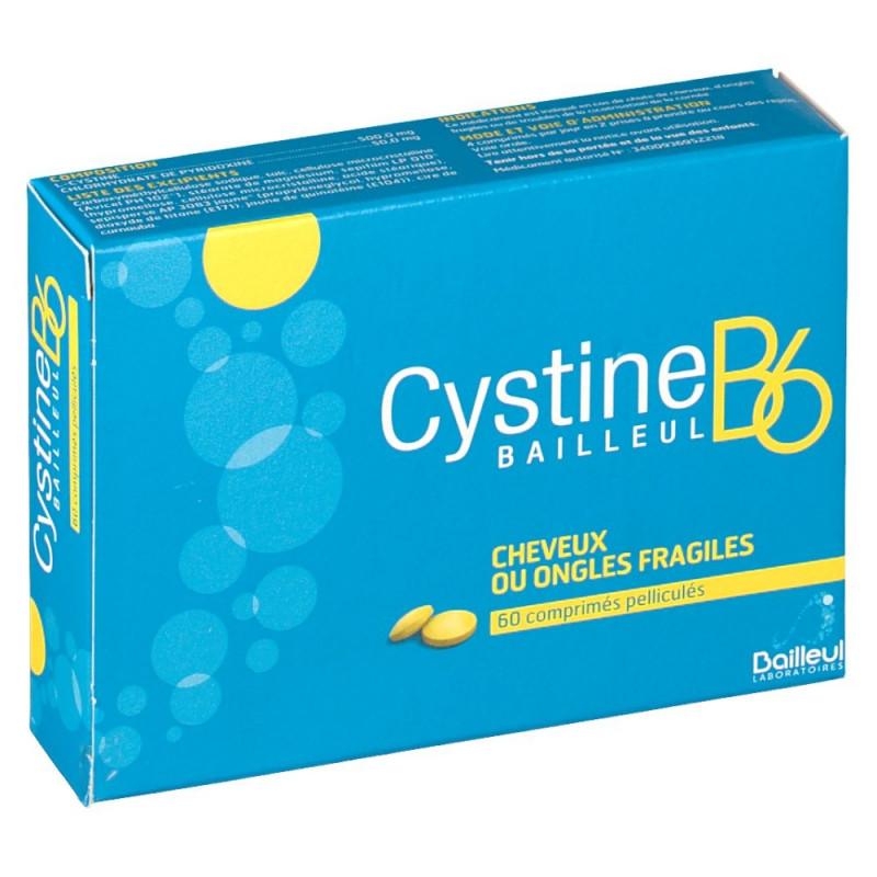 Cystine B6 Bailleul 120 comprimés pelliculés
