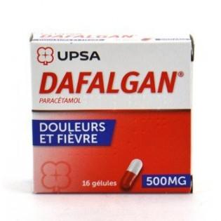 Dafalgan 500mg UPSA boîte 16gél