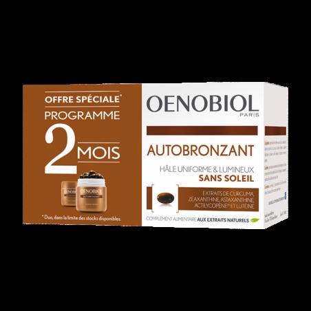 Oenobiol autobronzant 30 capsules lot de 2