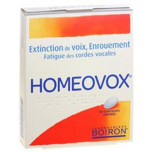Homeovox 60 comprimés