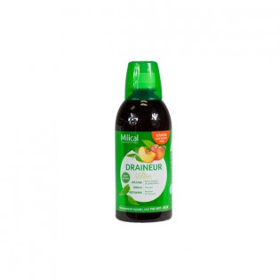 MILICAL DRAINEUR ULTRA GOUT THE VERT PECHE SANS SUCRES 500ML