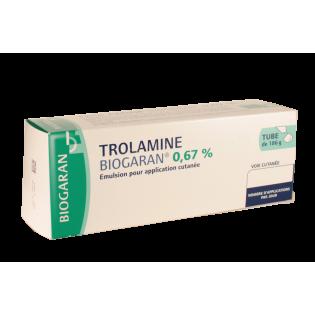 TROLAMINE BIOGARAN 0.67% TUBE 186G