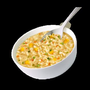 MILICAL Soupe saveur poulet & nouilles chinoises BOITE DE 4 SACHETS