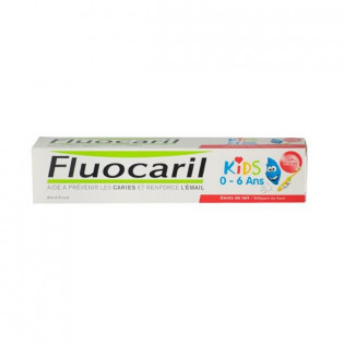 Fluocaril Kids Dentifrice 2-6 ans. Goût Fraise Tube 50ML