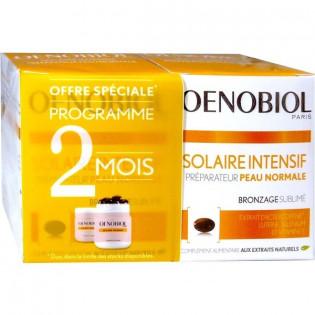 Oenobiol Solaire Intensif Peau Normale. 2 boîtes de 30 capsules