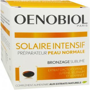 Oenobiol Solaire Intensif® Peau Normale. 30 capsules