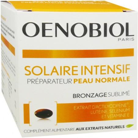 Oenobiol Solaire Intensif Peau Normale. 30 capsules