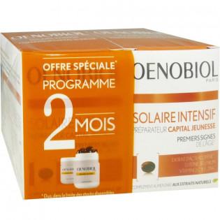 Oenobiol Solaire Intensif peaux sèches. Lot de 2 boites de 30 capsules