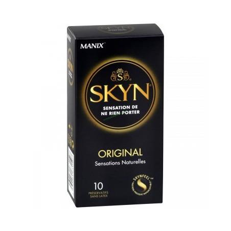 Manix Skyn Original. Boîte 10 Préservatifs Sans Latex