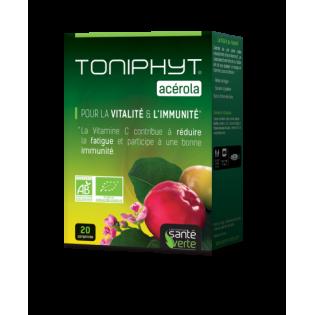 Santé Verte Toniphyt ACEROLA BIO - 20 comprimés