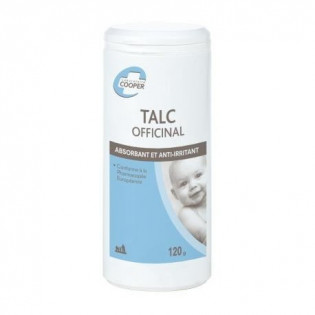 TALC OFFICINAL BABY SOIN 120G