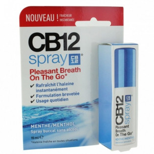 CB12 SPRAY MENTHE SANS ALCOOL 15ML