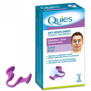 QUIES ANTI RONFLEMENT DILATATEUR NASAL