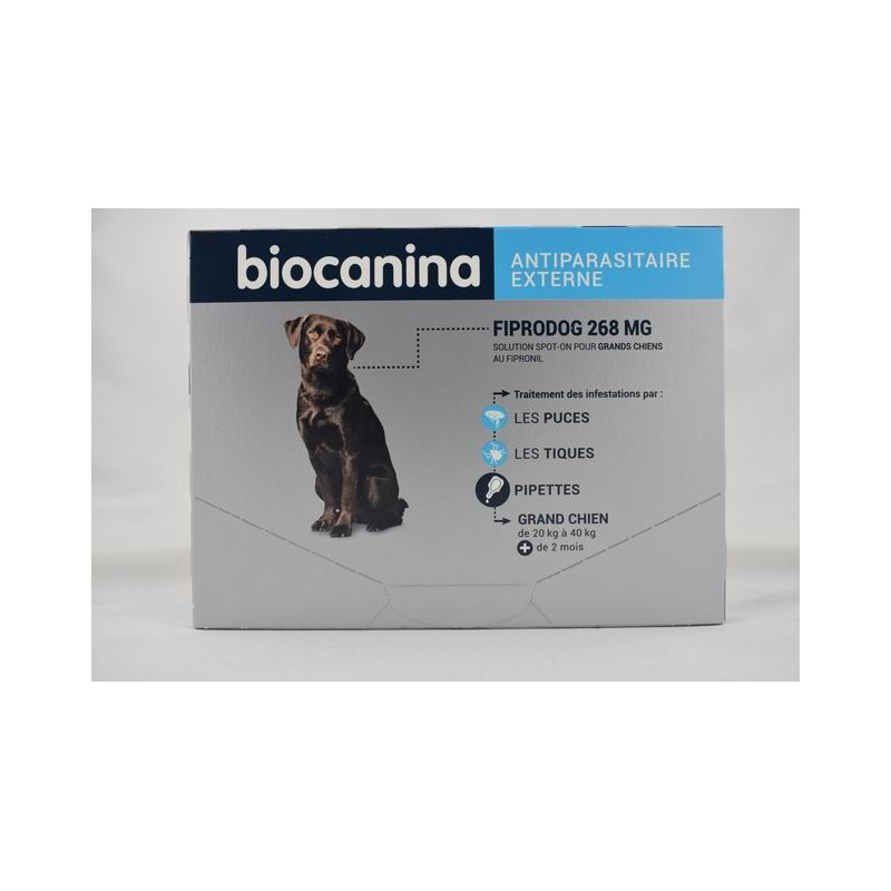 BIOCANINA FIPRODOG 67 MG SOLUTION SPOT ON PETITS CHIENS