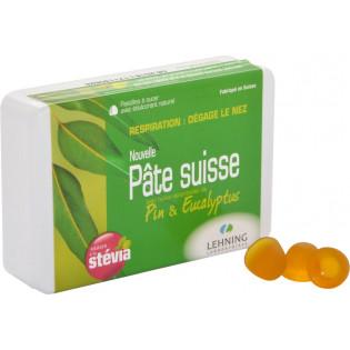 PATE SUISSE LEHNING RESPIRATION DEGAGE LE NEZ 40 PASTILLES