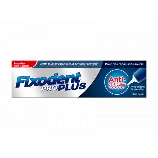 Fixodent Pro Soin Anti-particules. Tube 40G