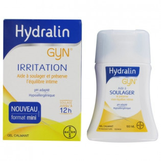 HYDRALIN GYN IRRITATION GEL LAVANT CALMANT 100ML
