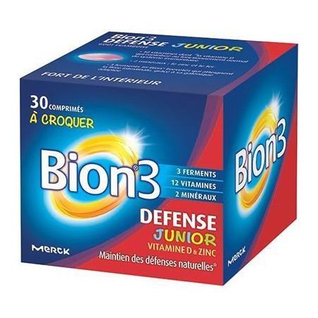 Bion 3 defense JUNIOR - Petit Format 30 comprimés