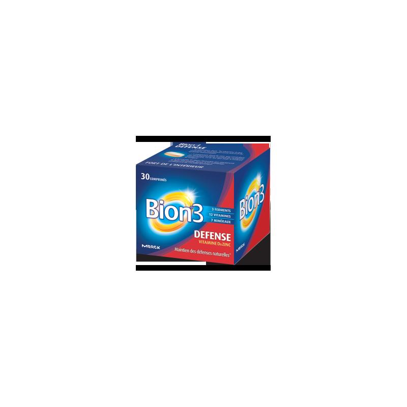 Bion 3 Adultes activateur de santé - Petit Format 30 comprimés