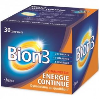BION 3 ENERGIE CONTINUE 30 COMPRIMES