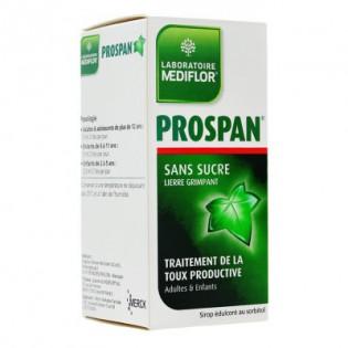 MEDIFLOR PROSPAN SIROP TOUX GRASSE SANS SUCRE 100ML