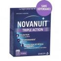 NOVANUIT Sommeil triple action boîte de 30 gélules