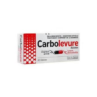 Carbolevure Adulte 30 gélules
