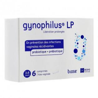 GYNOPHILUS LP 6 COMPRIMES VAGINAUX