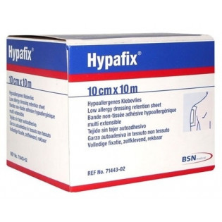HYPAFIX 5*5 SPARADRAP MULTI EXTENSIBLE / MAINTIEN DE PANSEMENT POUR PEAUX SENSIBLES BSN MEDICAL