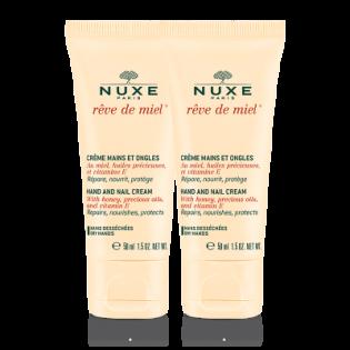 OFFRE SPECIALE Nuxe Rêve de miel crème mains ongles. 2 Flacons de 75ML