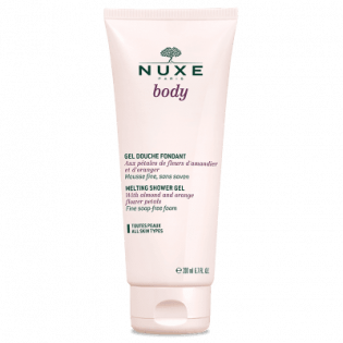 Nuxe Body Gel douche fondant. Tube 200ML