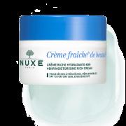 Nuxe Crème Fraîche® de Beauté Crème riche hydratante 48H. Pot 50ml