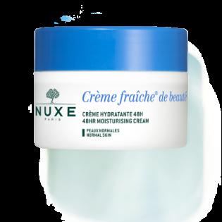 Nuxe Crème Fraîche de Beauté Crème Hydratante et Apaisante Peaux Normales. Pot de 50ML