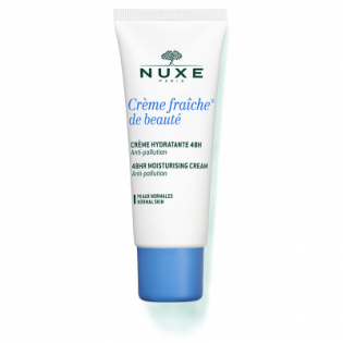 Nuxe Crème Fraîche de Beauté Crème Hydratante et Apaisante 24H Peaux Normales et Sensibles. Tube 30ML